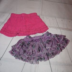 Two Children's Place Skirts